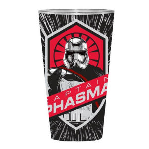 Star Wars Episode VII The Force Awakens Captain Phasma 16 Ounce Full Wrap Pint Glass