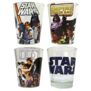 Star Wars Original Trilogy Mini Glass 4-Pack