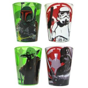 Star Wars Character Mini Glass 4-Pack
