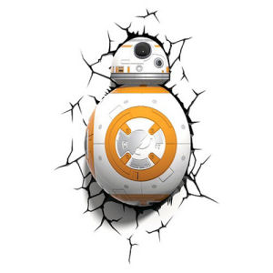 Star Wars The Force Awakens BB-8 Droid 3D Light