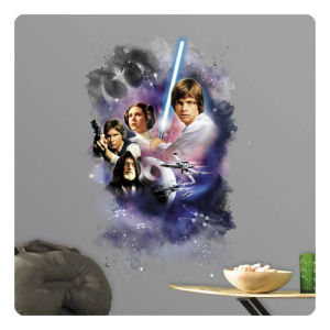 Star Wars Classic Mega Peel and Stick Giant Wall Decal