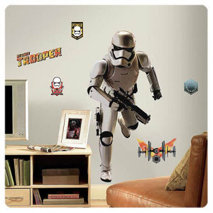 Star Wars The Force Awakens Stormtrooper Giant Wall Decal