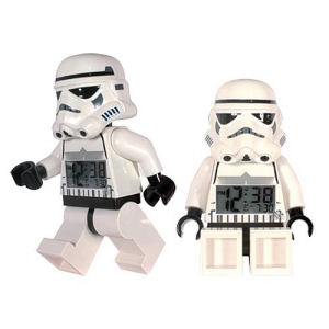 LEGO Star Wars Stormtrooper Minifigure Clock