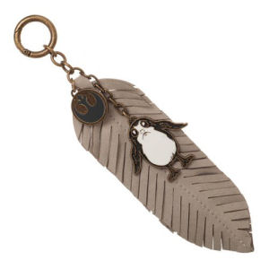 Star Wars The Last Jedi Porg Feather Key Chain