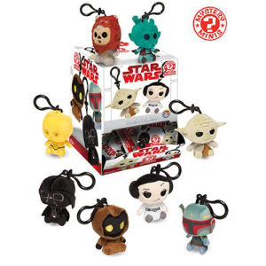 Star Wars Classic Mystery Mini Plush Key Chain Display Case