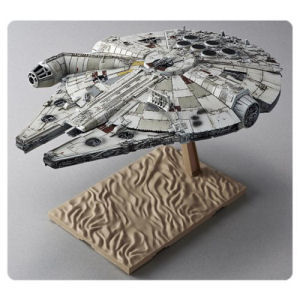 Star Wars The Force Awakens Millennium Falcon 1/144th Scale Model Kit
