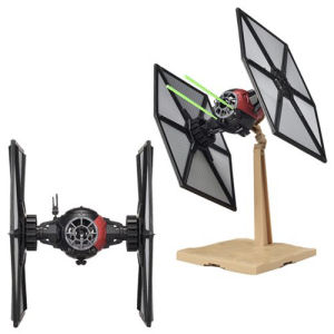 Star Wars The Force Awakens First Order Special Forces TIE Fighter 1/72nd Scale Model Kit