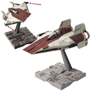 Star Wars A-Wing Starfighter 1/72nd Scale Model Kit