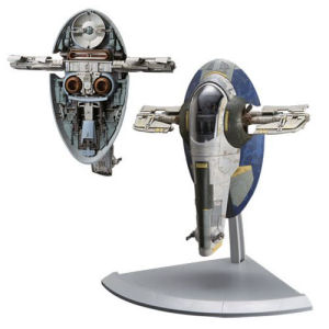Star Wars Slave I Jango Fett Version 1/144th Scale Model Kit