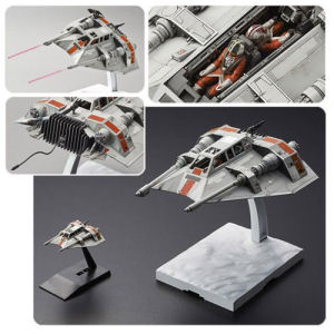 Star Wars Snowspeeder 1/48th and 1/144th Scale Model Kit Set