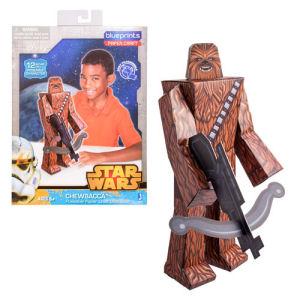 Star Wars Chewbacca 12-Inch Blueprints Papercraft