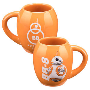 Star Wars The Force Awakens BB-8 18 Ounce Oval Ceramic Mug