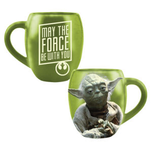 Star Wars Yoda 18 Ounce Ceramic Mug