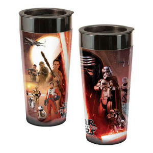 Star Wars Episode VII 16 Ounce Plastic Travel Mug