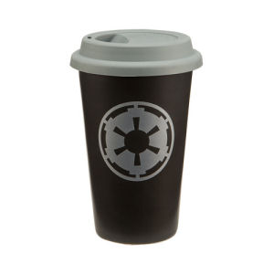 Star Wars 12 Ounce Double Wall Ceramic Travel Mug