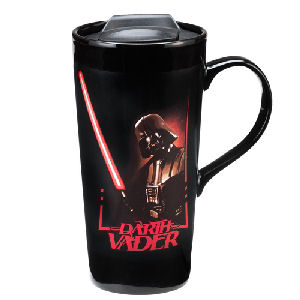 Star Wars Darth Vader 20 Ounce Heat Reactive Ceramic Travel Mug