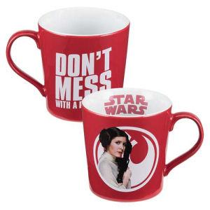 Star Wars Princess Leia 12 Ounce Ceramic Mug