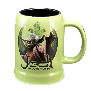 Star Wars Yoda 20 Ounce Ceramic Stein