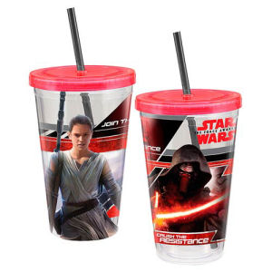 Star Wars Episode VII The Force Awakens 18 Ounce Travel Cup