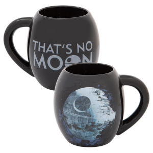 Star Wars Death Star 18 Ounce Ceramic Oval Mug