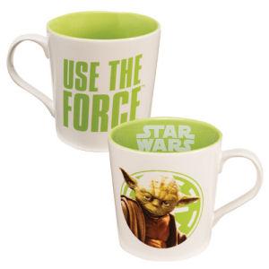 Star Wars Yoda Use the Force 12 Ounce Ceramic Mug