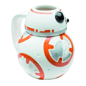 Star Wars The Force Awakens BB-8 Molded Ceramic Mug