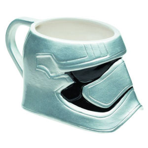 Star Wars Episode VII  The Force Awakens Captain Phasma Molded Ceramic Mug