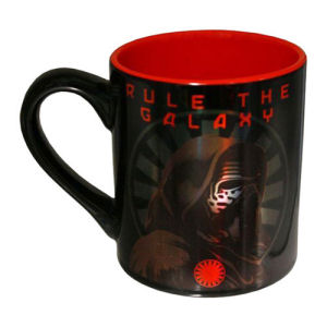 Star Wars Episode VII The Force Awakens Kylo Ren Rule the Galaxy 14 Ounce Laser Ceramic Mug