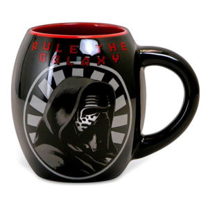 Star Wars Episode VII The Force Awakens Kylo Ren Rule the Galaxy 18  Ounce Oval Ceramic Mug