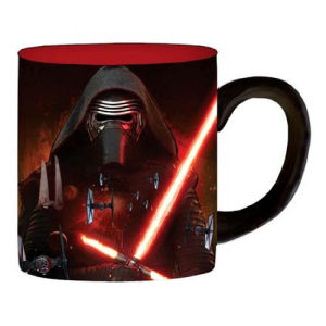 Star Wars Episode VII  The Force Awakens Kylo Ren Space 14 Ounce Ceramic Mug