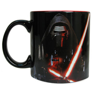Star Wars Episode VII The Force Awakens Kylo Ren Space 20 Ounce Ceramic Mug