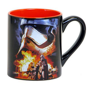 Star Wars Episode VII The Force Awakens Phasma and Flametroopers 20 Ounce Ceramic Mug