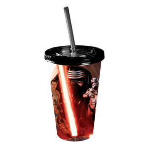 Star Wars Episode VII The Force Awakens All Characters Poster 16 Ounce Travel Cup
