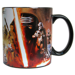 Star Wars Episode VII The Force Awakens All Characters Poster 20 Ounce Ceramic Mug