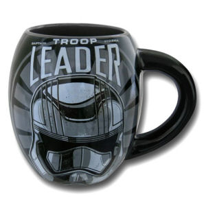 Star Wars Episode VII The Force Awakens Captain Phasma Troop Leader Logo 18 Ounce Oval Ceramic Mug
