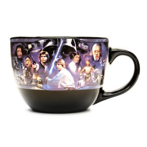 Star Wars Collage 24 Ounce Ceramic Soup Mug