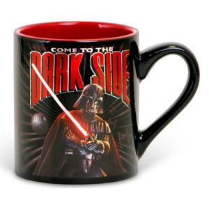 Star Wars Dark Side 14 Ounce Ceramic Laser Print Mug