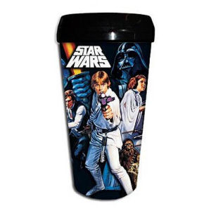 Star Wars A New Hope 16 Ounce Plastic Travel Mug