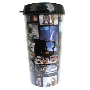 Star Wars Photo Grid 16 Ounce Travel Mug