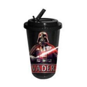 Star Wars Darth Vader Plastic 16 OunceFlip Straw Travel Cup