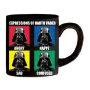 Star Wars Darth Vader Expressions 14 Ounce Ceramic Mug