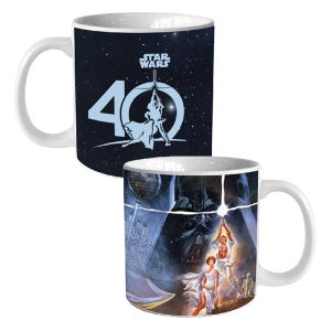 Star Wars 40th Anniversary 20 Ounce Heat Reactive Ceramic Mug