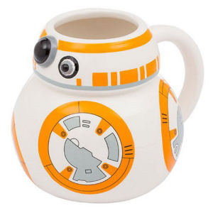 Star Wars The Force Awakens BB-8 18 Ounce Ceramic Sculpted Mug