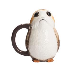 Star Wars The Last Jedi Porg Ceramic Sculpted Mug