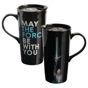 Star Wars The Last Jedi Rey 20 Ounce Ceramic Heat Reactive Travel Mug