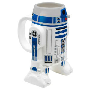 Star Wars R2D2 Ceramic Molded Mug