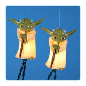 Star Wars Plastic Yoda Full Figure Light Set