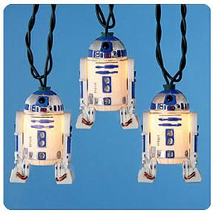 Star Wars Plastic R2-D2 Full-Figure Light Set