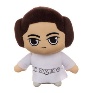 Star Wars The Last Jedi Leia 6.5 Inch Super Deformed Plush
