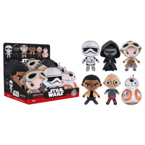Star Wars The Force Awakens 8 Inch Galactic Plushies Display Case